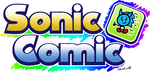 Sonic Comic Logo by NuryRush
