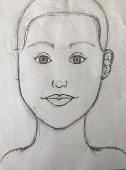 When you try to draw realism for the first time by MsAngstyDutchess
