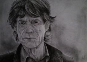 Mick Jagger by lava93