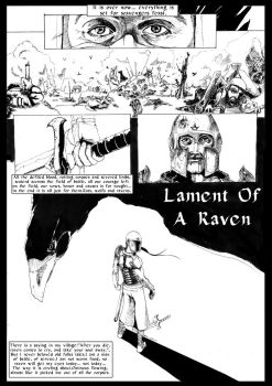 Lament of A raven PG1 by Musashi-dono