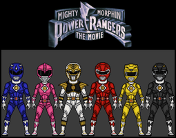 Mighty Morphin Power Rangers: The Movie by theherocreator