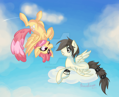 You're Upside Down by xMetalKitty