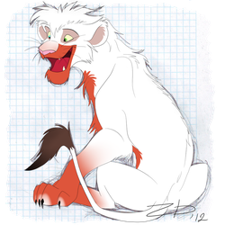 .:Lion character for sale:. SOLD by Mganga-The-Lion