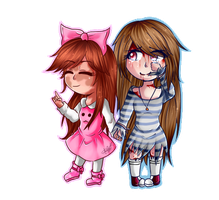 Commision Laurie (Lost Soul) and Stefany by bombon4321