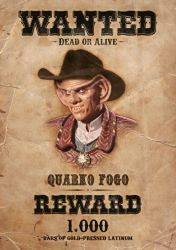 WANTED poster by RGB-XYZ