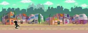 City Background by WhiteLeyth