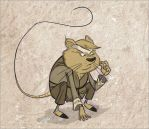 karate mouse3 by HEROBOY