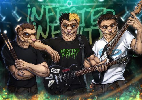 Infected Infinity band by Symerinart