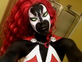Spawn Body Paint by MissSinisterCosplay