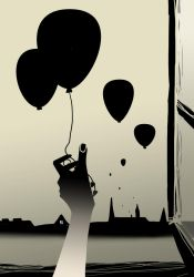 Balloons without hope by DieZori