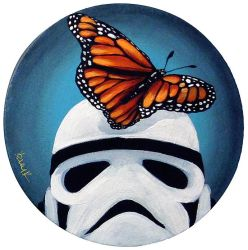 Stormtrooper Butterflies Series 1/9 by TrampLamps