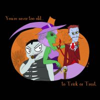 You're never too old to Trick or Treat. by MysticWonderingWoman