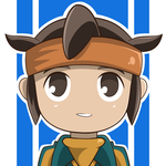 Endou - chibi by Gray-Wolfy