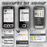 Severity Symbian theme by Xavier-Themes