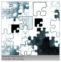 Puzzle Brushes by Scully7491