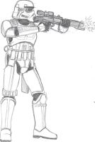 Storm Trooper Viewed Side by CrashyBandicoot
