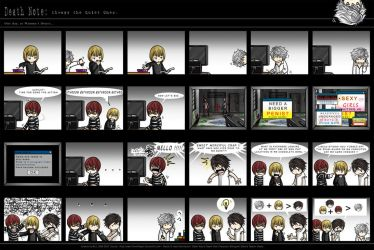Death Note: The Quiet Ones. by eychanchan