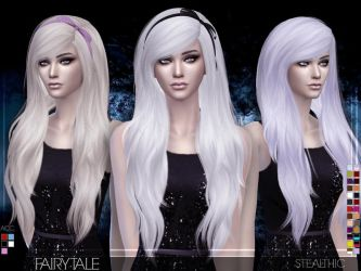 [MMD] Fairytale Female Hair (+DL) by AppleWaterSugar
