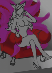 Ahri Step by Step by Frostbite07