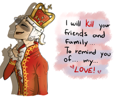 Goerge King ~ You'll be back by SiaWolFurry