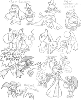 PMD SKETCHDUMP AHOY by shadenightfox