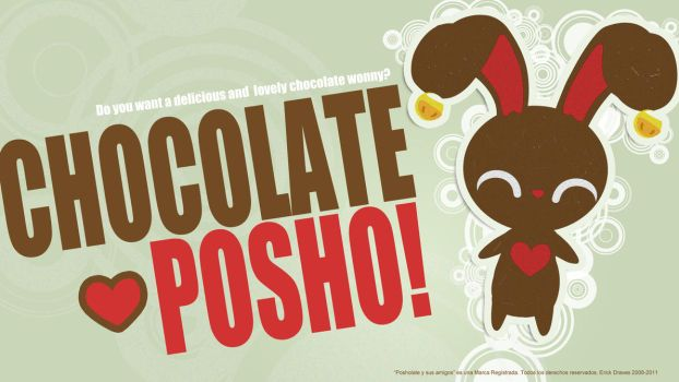 CHOCOLATE POSHO-LATE by Erick-Draves