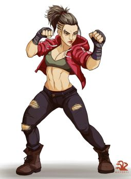 Commission - Pit Fighter by landuo