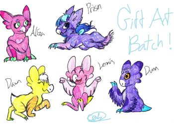 Wyngro Gift Batch 1 by CelticQuailKnight