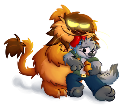 Don't lick me ! D: by Toxicoow