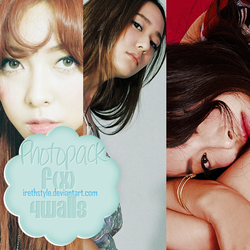 Photopack #119 | f(x) - 4 Walls by IrethStyle