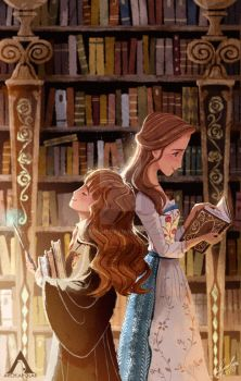 LOST IN  A BOOK by Apolar