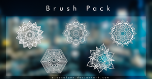 Brush Pack| M A N D A L A by elyssafawn