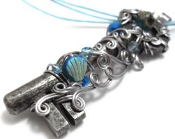 Passage Necklace no. 112 by sojourncuriosities