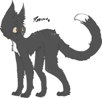 Ravenpaw by oddjelly