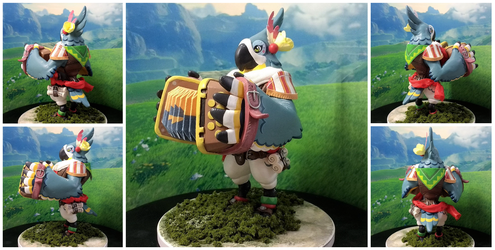 Breath of the Wild Kass Figure by brackenhawk