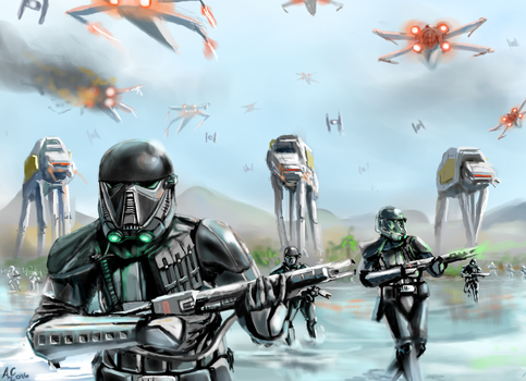 Death Troopers Lead the Way by Turd-Burger
