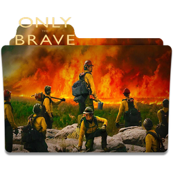 Only The Brave (2017) movie folder icon by oufai