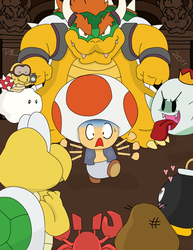 Toad - Wrong Castle by ferret522
