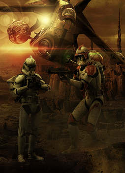 Commander Cody by Aste17