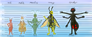 Lurk: Character Lineup by Goldquiver