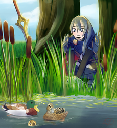Commission: Lucina by RyuRedwings