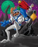 Earthworm Jim #2 by OliverBrundle