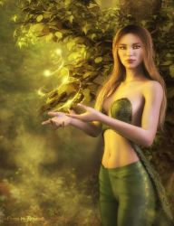 Lily of the green vale by art-by-Amaranth