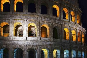Colosseum by night by CitizenFresh