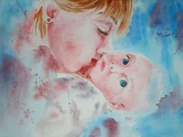 Mothers love by DiptiArt