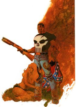 Punisher cover no.71 Step 5 by Devilpig