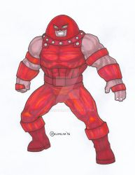 Juggernaut - Marvel by NaGaSaNe