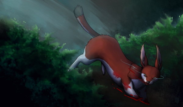 ::CM:: Moonlight Mr. Stoat by lizziecat1279