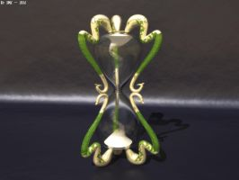 Professor Slughorn's Hourglass by JohnK222