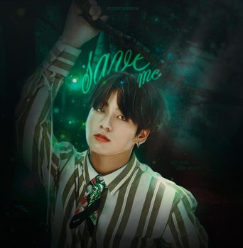 Jeon Jungkook / BTS / [Design for a group] by Blackironcat